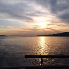 海/幸せの一時/クルーズ船/休日/おでかけ/神戸クルーズ/... 一昨日は先日クジで当たった 神戸クルーズ…