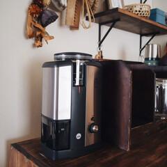 レトロ/コーヒーミル/コーヒータイム/コーヒーグラインダー/Wilfa/キッチン/... Wilfaのコーヒーグラインダーが 最近…
