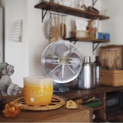 バームオレンジ/暮らしのキロク/パック/美容/コスメ/メーク落とし/... 最近お気に入りの洗顔料☺️♥︎ メーク落…