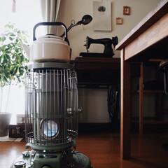 アラジン ブルーフレームヒーター グリーン BF3911-G 対流型 石油ストーブ 木造7畳 コンクリート10畳 | アラジン(電気ストーブ)を使ったクチコミ「冬にかかせない 我が家のアラジンストーブ…」