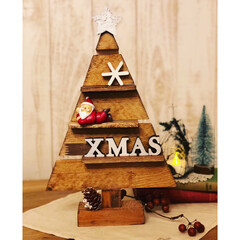 手作りクリスマス/木製ツリー/一緒に作りませんか/ワークショップ講師/DIYワークショップ/クリスマス 私ごとでお知らせ失礼します🙏 ワークショ…