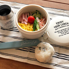 部活弁当/夏のお弁当/スープジャー/どんぶりジャー/素麺弁当/冷やし麺 【冷やし麺弁当始めました】  暑くなると…