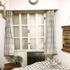 窓枠/ポリカーボネート/寝室/寒さ対策/2重窓/DIY 去年DIYした、2重窓。 折れ戸になって…