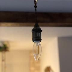 トレディア 5灯 シーリングライト ミニクリプトン球 LT-9679(シーリングライト)を使ったクチコミ「私のお気に入りの照明器具♫  インターフ…」(2枚目)