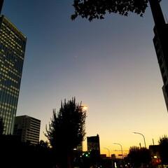 夕暮れ/おでかけ きれいな空~✨