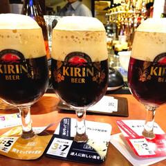 ビール/おでかけ/グルメ 東京駅のお店でビールを嗜みましたぁ😁🍺美…