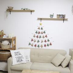 アドベントカレンダー/クリスマス/100均/ダイソー 今年も完成!100均で作る、アドベントカ…