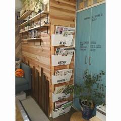 壁面収納/収納/本棚/DIY/IKEA/リメイク/... こんにちは。 だんだんと春めいてきて過ご…