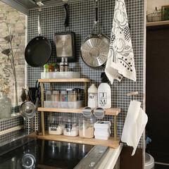 キッチンアイテム/おうちじかん/すっきり暮らしたい/日々の暮らし/暮らしを整える/収納/... こんばんわ。 今日から7月🎋 毎日暑くて…