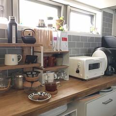 ロイヤルデザイン/北欧インテリア/カフェ風インテリア/Coffee/暮らしを楽しむ/おうち時間/... 新しくフィルター付きコーヒーメーカーをお…