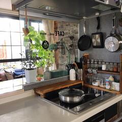 住まい/暮らし/キッチン/kitchen/カフェ風インテリア/北欧インテリア/... おはようございます☀︎ 朝からすごく寒い…