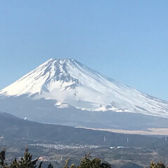 風が強い/風が冷たい/昼休み/富士山🗻 今日は朝からバタバタ💦 屋上に行く時間な…