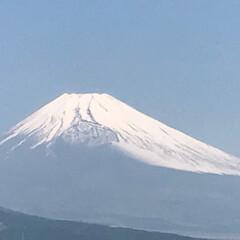 癒し/富士山🗻 職場の屋上にて きょうはすっきり晴れまし…