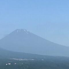 富士山 今朝、久しぶりに見えました 富士山🗻 少…