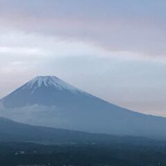 富士山🗻/夕暮れ時 静岡県三島市から 今日の夕暮れ時の富士山🗻