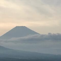 富士山/夕暮れ時 今日の夕暮れ時の富士山🗻(1枚目)