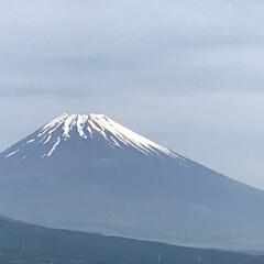 富士山 今朝の富士山🗻 気持ちのいい朝です😊 日…