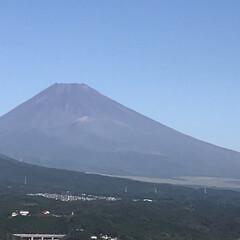 富士山🗻/住まい 三島市からの今朝の富士山です🗻  長らく…