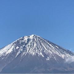 富士山🗻/白糸の滝/音止の滝/冬/おでかけ/風景 今日は晴天  母と妹と一緒に富士宮にドラ…(1枚目)