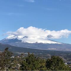 富士山🗻/夕暮れ時/風景/わたしのお気に入り おはようございます☀ 今日の富士山🗻綺麗…(3枚目)