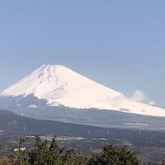 富士山🗻/風景 今朝の富士山🗻
