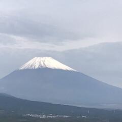 冠雪/富士山🗻 今日、ようやく冠雪した富士山見ることがで…