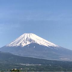 晴天/富士山/令和の一枚/至福のひととき/風景/暮らし おはようございます🤗 今日の富士山🗻 晴…