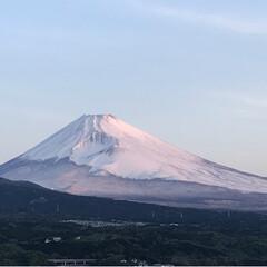 富士山/春のフォト投稿キャンペーン/ありがとう平成/令和の一枚/GW/至福のひととき/... おはようございます☀ 今朝の富士山🗻です…