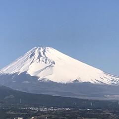 富士山🗻/晴天/青空/春のフォト投稿キャンペーン/風景 今朝の富士山🗻 スッキリと晴れわたった空…