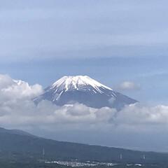 富士山/令和元年フォト投稿キャンペーン/令和の一枚/至福のひととき/風景 久しぶりに富士山を見ることができました🗻…