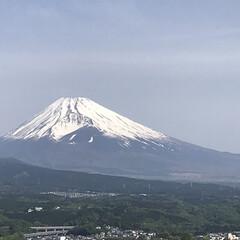 富士山/春のフォト投稿キャンペーン/ありがとう平成/令和の一枚/至福のひととき/風景/... 今朝の富士山🗻 昨日の富士宮市や富士市か…