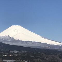 富士山🗻/癒し/夜勤明け/風景 今朝の富士山🗻Part 2 3時間後の富…