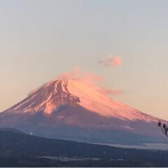 富士山🗻/日の出/ビックムーン/冬 今朝の富士山🗻 ビックムーン 日の出