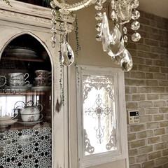 キッチン/窓枠DIY/シャビーシック/ホワイトインテリア/フレンチ/フレンチシック/... 自分ちの窓枠初めて作りました。 第一号は…
