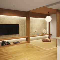 デザイン/リフォーム/インテリア/マンション/新築/グラフィック 壁のデザインを変えるだけでインテリア雰囲…