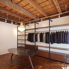 家具/什器/製作/こだわり/テーブル/店舗 セレクトショップの店舗什器とテーブルを製作