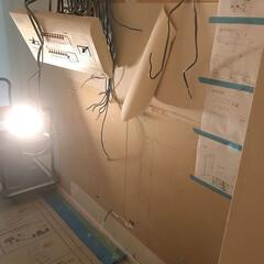 現場/工事/大阪市/西区 [大阪市西区O邸]電気ブレーカーの移設工…