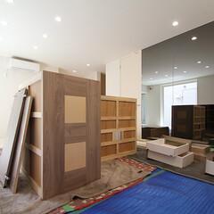 家具/取り付け/引き出し/現場 [大阪市天王寺区K邸]オーダー家具の取り…