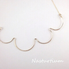 """ハンドメイド/アクセサリー/ジュエリー/雲/ネックレス/necklace/... kumo""""雲""""necklace  青い空…"""
