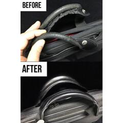 リメイク/取替え/作り直し/持ち手/バッグ/鞄/... バッグの持ち手作り替え修理です。 傷んだ…