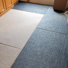 クッション材/縁無し畳/和室/ペットに最適 ペットちゃんにも最適な畳の表面素材、通常…(1枚目)