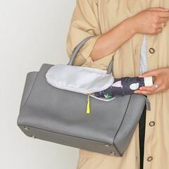マーナ/MARNA/傘/収納/便利/雑貨/... 濡れた折りたたみ傘の持ち運びに。バッグに…