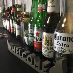 雑貨/瓶ビール/ビール/瓶テリア 瓶テリア✨ 瓶ビール🍺笑笑