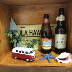 雑貨だいすき ハワイをイメージしました