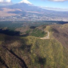 風景/旅 ヘリコプターに乗る機会があり、その時に撮…(1枚目)