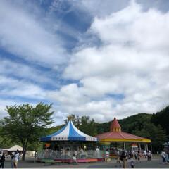 雲/遊園地 (3枚目)
