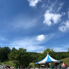 雲/遊園地 (2枚目)