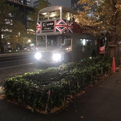 お気に入り このバスを見たのは初めて! 写真撮ってい…