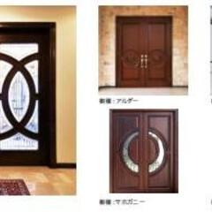 輸入住宅/欧米/欧州/玄関ドア/ガラスドア/レストラン/... オーダーメイドの玄関ドアです。 お好みの…