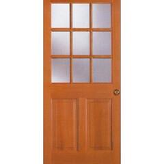 輸入住宅/輸入建材/木製ドア/ガラス入りドア/アメリカ/欧米/... 木製の内部ドアです。リビング等によく使用…